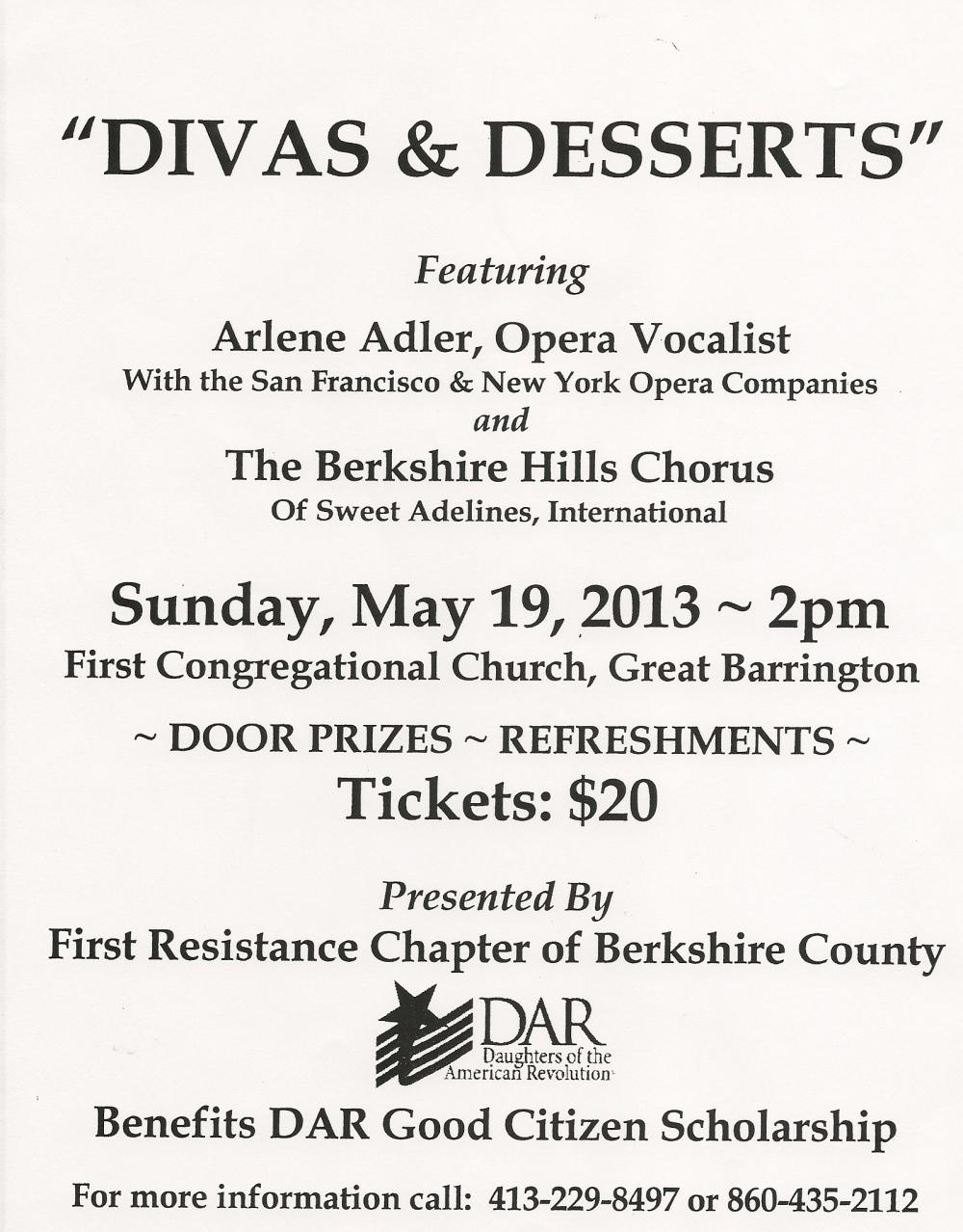 Divas & Desserts