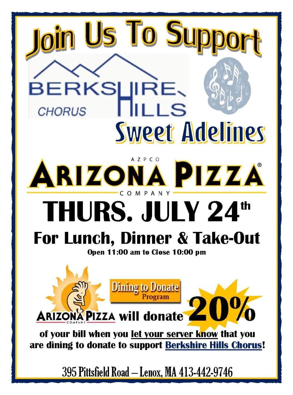Berkshire Hills Chorus D2D Flyer 2014
